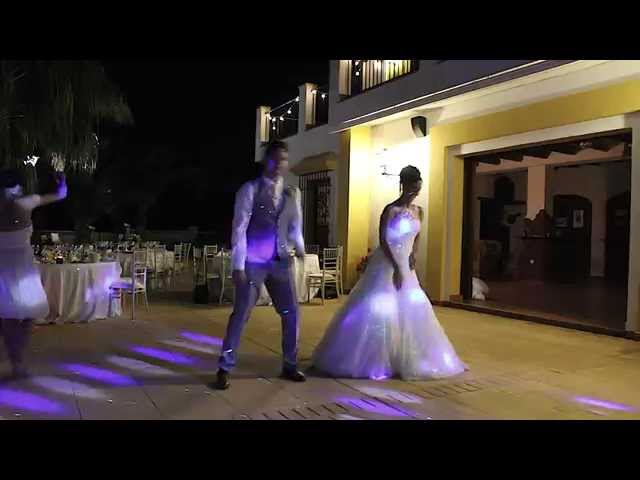 Hollie And Dave Smith Stole Everyones Hearts With Their Amazingly Choreographed Medley Of Hit Songs For First Dance At Wedding