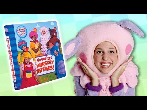 NEW Mother Goose Club Board Book | FAVORITE NURSERY RHYMES | Reading and Rhyming with Your Child