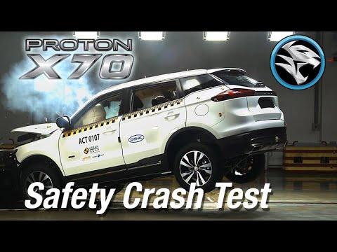 Ujian Kecemasan Keselamatan Proton X70