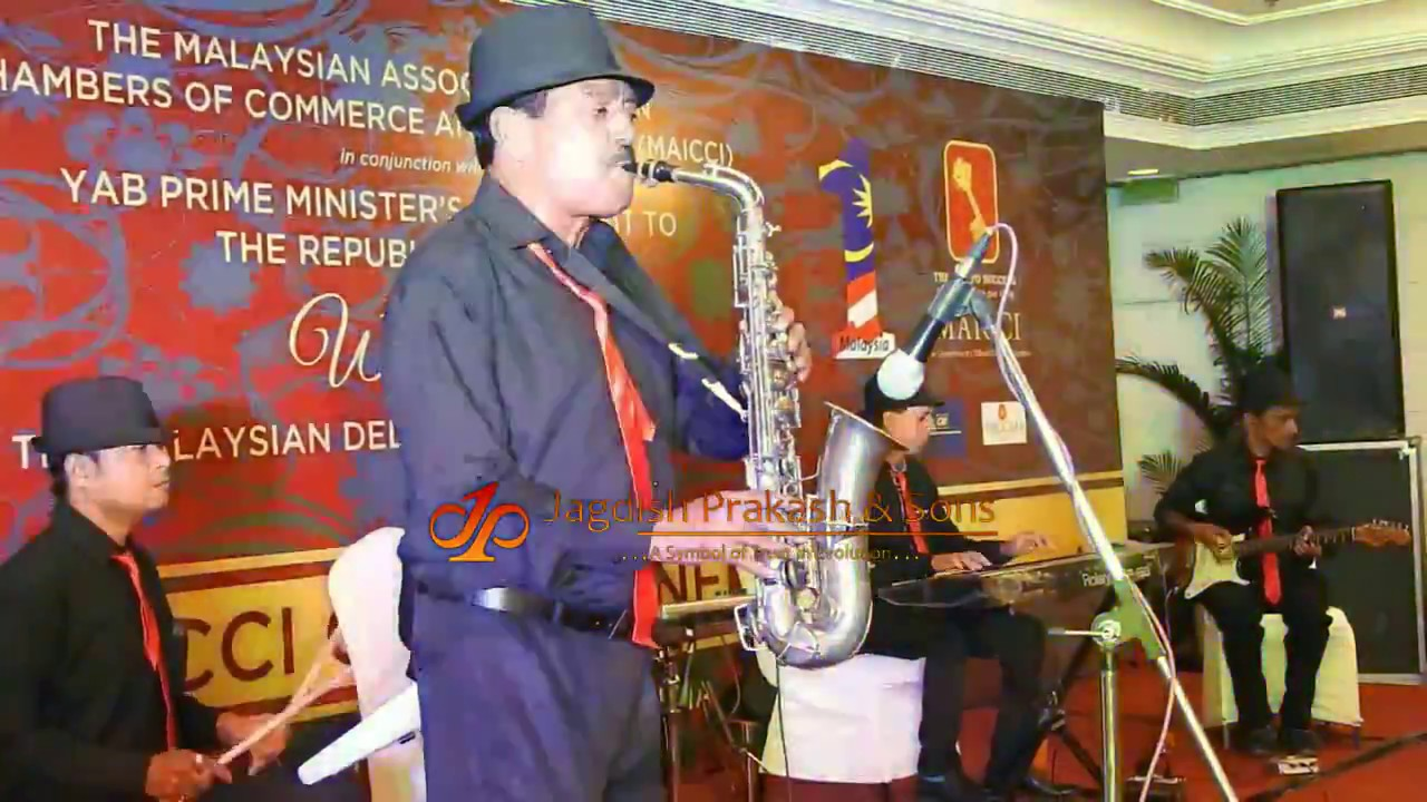 Instrumental Saxophone Player In Delhi India For Wedding Reception Event 91 9811376208