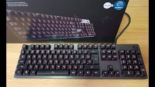 ОНЛАЙН ТРЕЙД.РУ Клавиатура механическая Logitech G413 Mechanical Gaming Keyboard Carbon (920-008309)