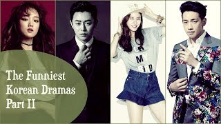 The Funniest Korean Dramas | Part II