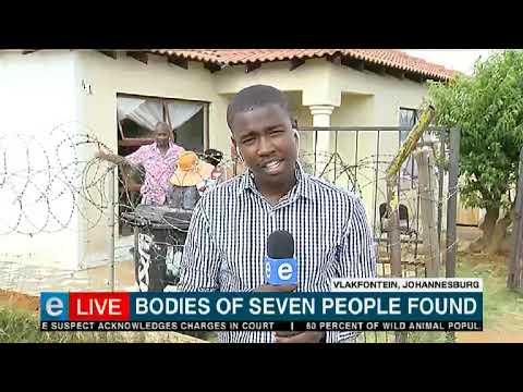 Update: Seven dead bodies found in Vlakfontein house