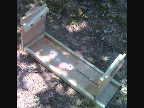 DIY AMP CRADLE TUBE AMPLIFIER CHASSIS REPAIR STAND