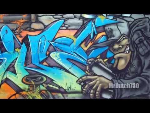 MrDutch730 - Graffiti NYC 2014 - Throwups, Wildstyle, Murals, Graff Bombing