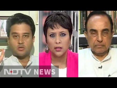 Subramanian Swamy vs Jyotiraditya Scindia: The Agusta face-off