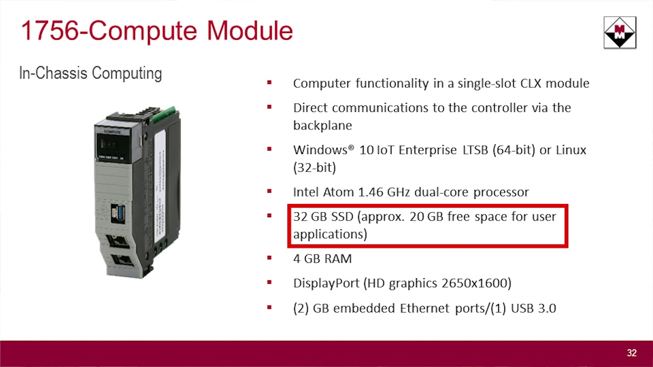 Introduction to Rockwell Automation's 1756-Compute Module