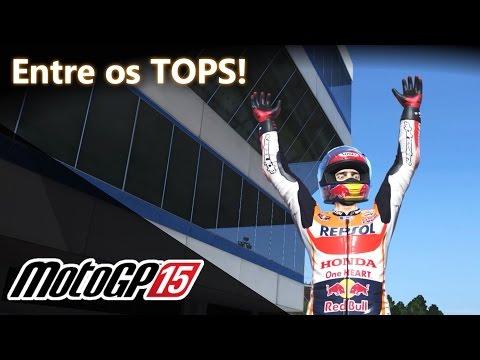 Spitão entre os TOPS! Conhecendo o jogo! Honda Repsol e Suzuki! | MotoGP 15 [PT-BR]