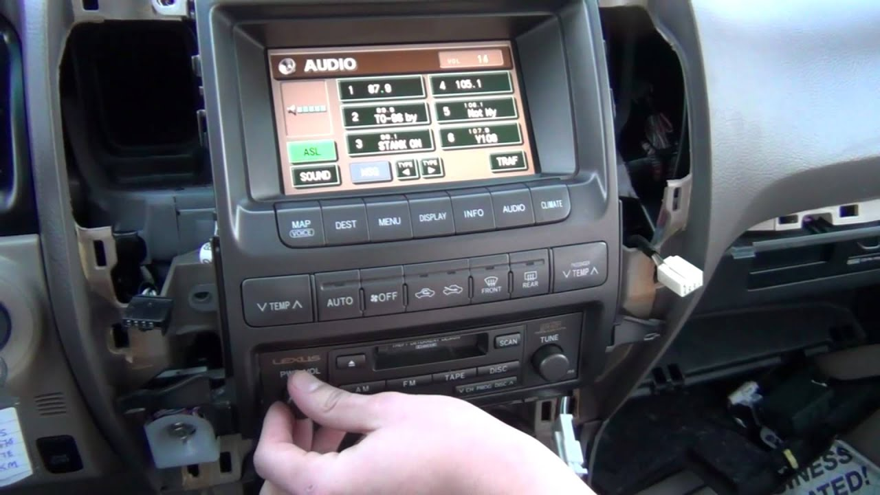 1997 toyota land cruiser wiring diagram nissan x trail audio gta car kits - lexus gx 470 2004, 2005, 2006, 2007, 2008, 2009 iphone, ipod and aux adapter ...