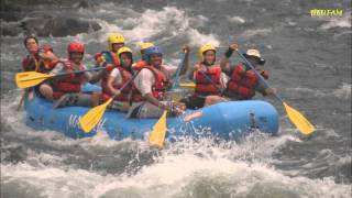 White Water Rafting - Almost Drowned