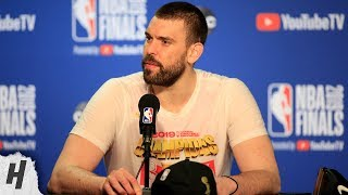 Marc Gasol Postgame Interview - Game 6 | Raptors vs Warriors | 2019 NBA Finals