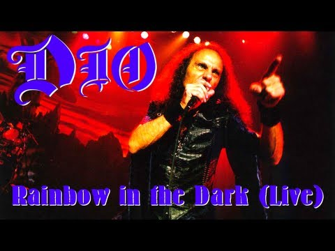 Dio - Rainbow in the dark (Live) [With Lyrics]