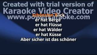 Cup Song - German Lyrics (karaoke)