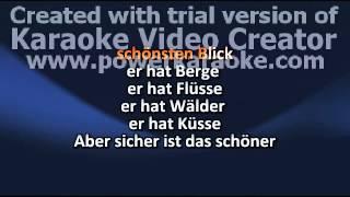 Cup Song - German Lyrics (karaoke)