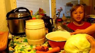 Квашеная капуста, супер рецепт- Готовить всем!!!
