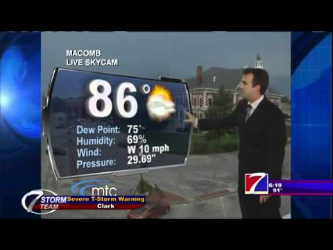KHQA Weather - Monday, July 13th, 2015 - Dave Holder