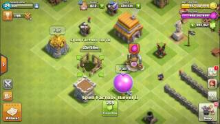 Town Hall 5 FULLY UPGRADED (BEFORE and AFTER)...|Clash of clans