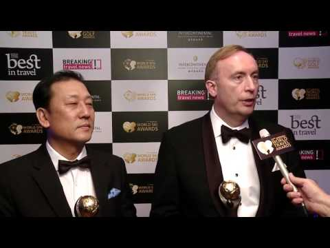 InterContinental Saigon Interview at World Travel Awards 2015