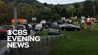 Limo crash kills 20 in upstate New York