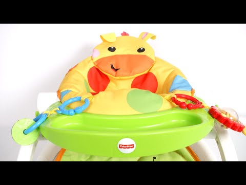 Sit Me Up Floor Seat With Tray From Fisher Price Youtube
