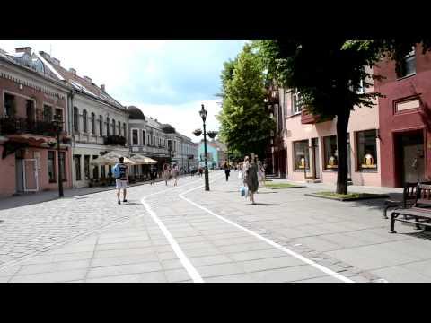 アキーラさん散策!リトアニア・カウナス旧市街1,Kaunas,Lytuania