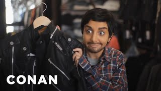The Unaired SNL Sketch: Nasim Pedrad As Aziz Ansari  - CONAN on TBS