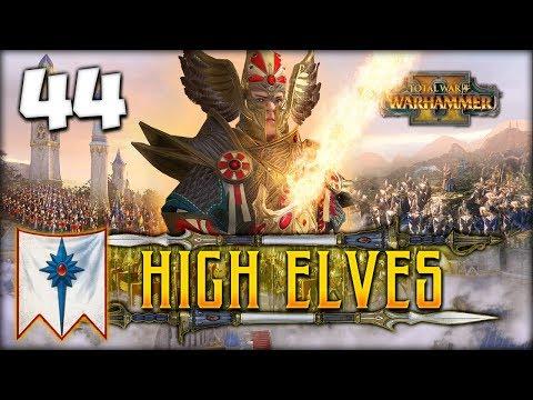 SKAVEN SQUASHER! Total War: Warhammer 2 - High Elves Campaign - Tyrion #44