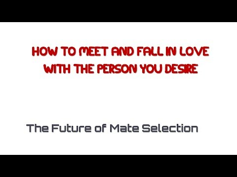 online dating and mate selection