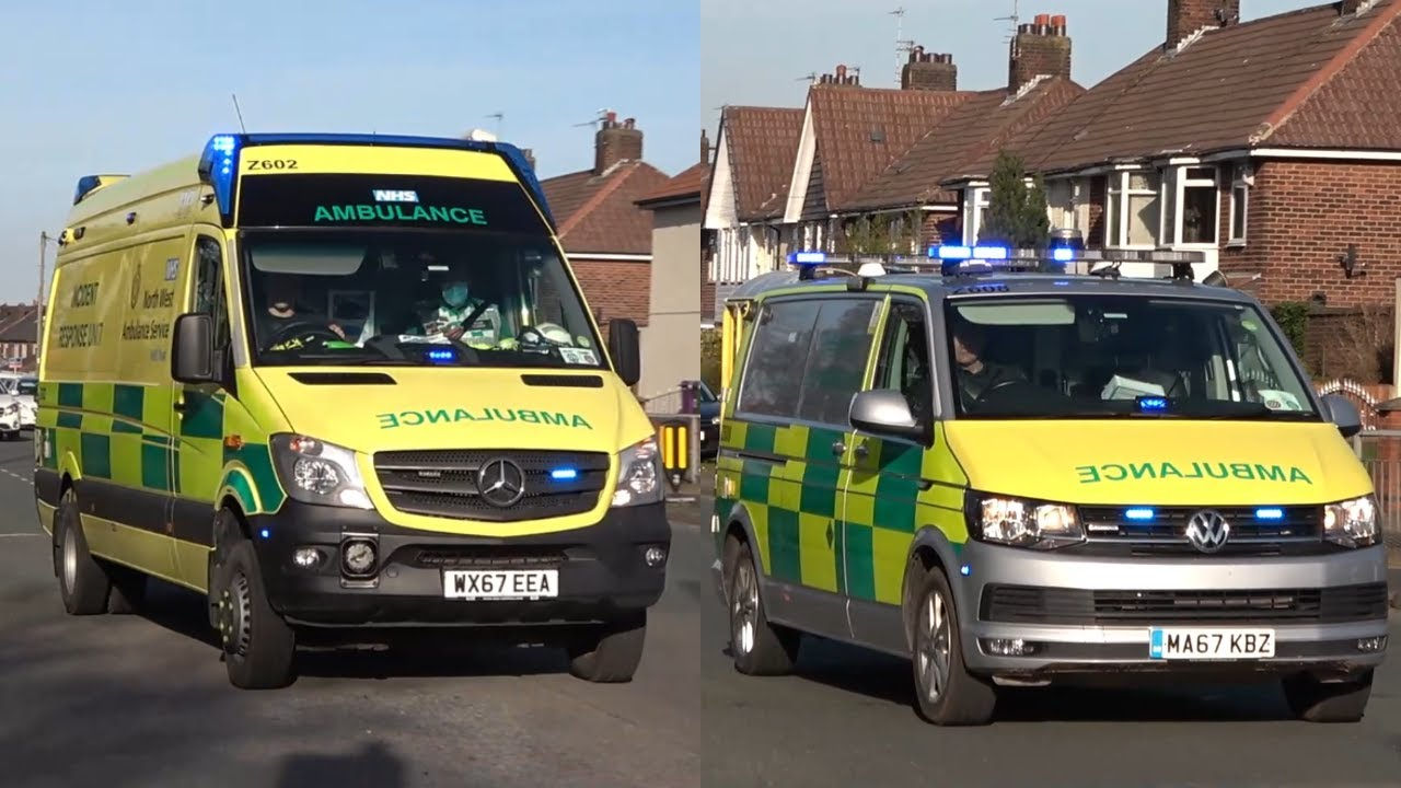 Download North West Ambulance Service - Full HART Team Responding in Convoy