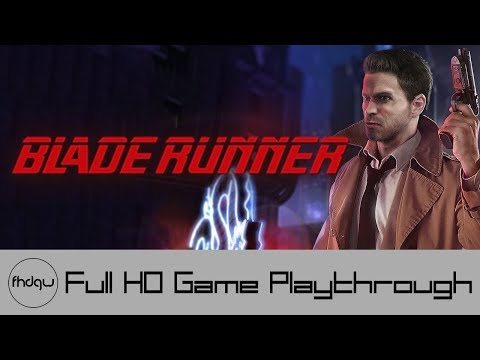 Blade Runner - Full Game Playthrough (No Commentary)