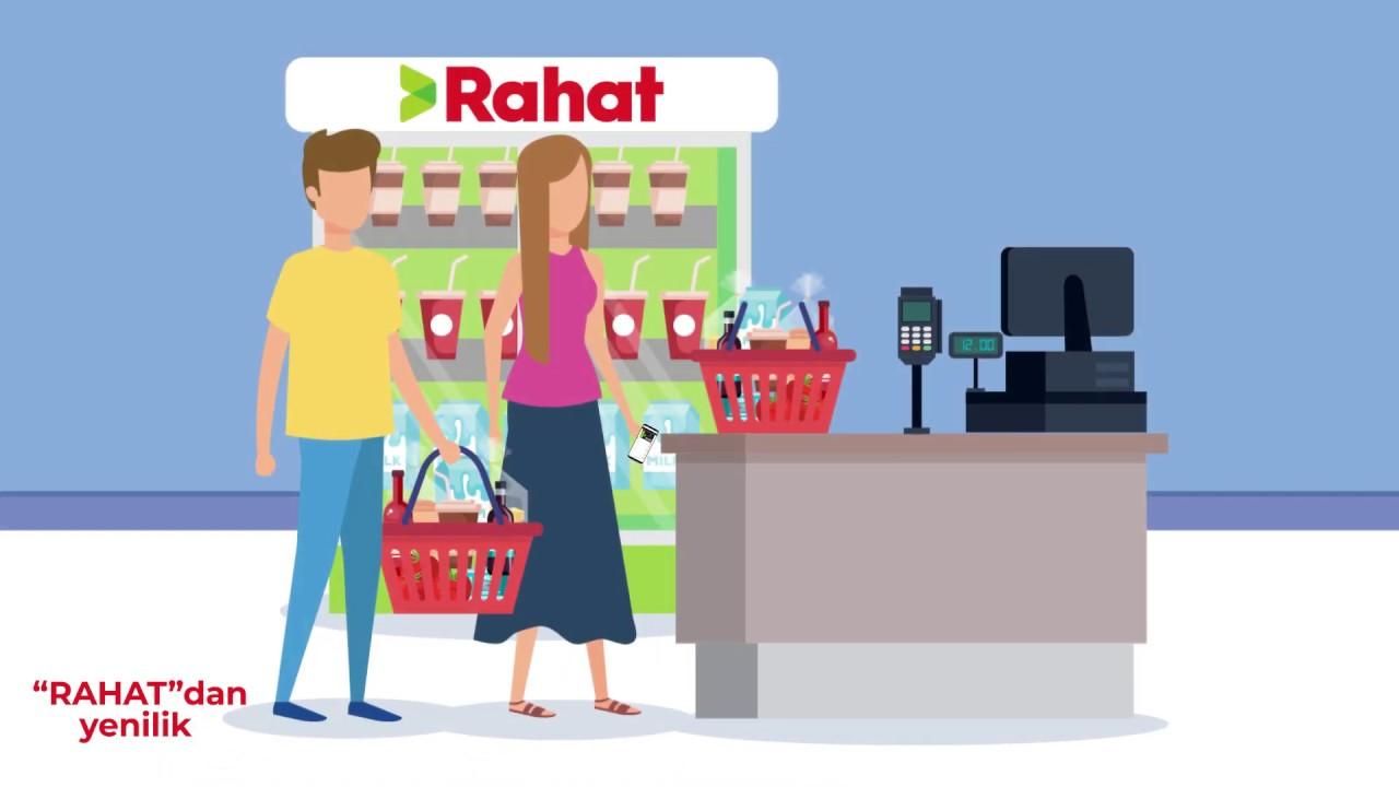 Rahat Supermarketlər Səbəkəsindən Yenilik Bonus Kartlarina Ehtiyac Qalmadi