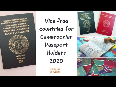 Visa Free Countries For Cameroonian Passport Holders 2020, Cameroon Passport Visa Free Countries 201