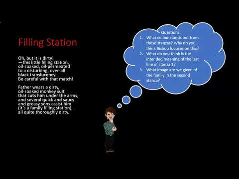 Leaving Cert Poetry 2021: Elizabeth Bishop - Filling Station