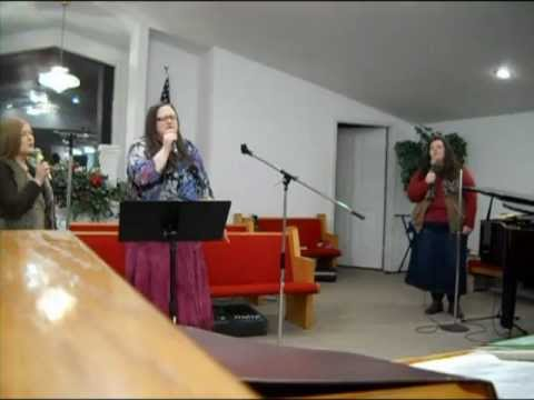 "Saved by Grace singing ""I Will Rejoice"""