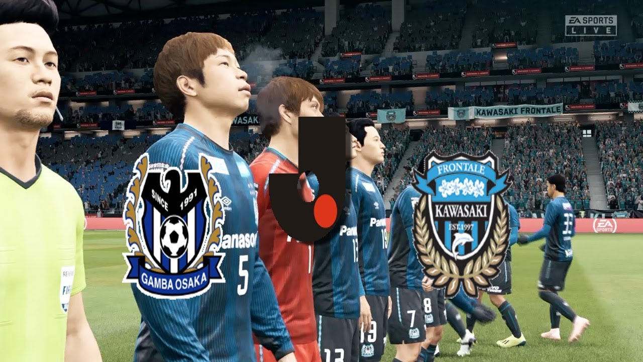 Fifa 20 Japan J League Gamba Osaka Vs Kawasaki Frontale Panasonic Stadium Suita Youtube