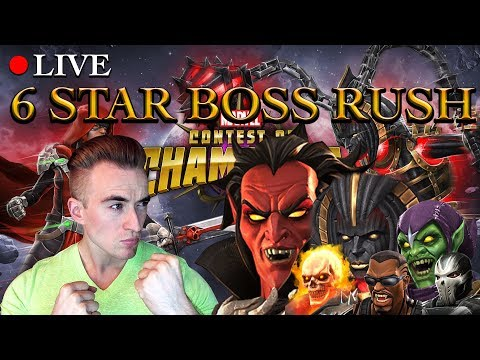 Analyzing The 6 Star Boss Rush Challenge | Marvel: Contest of Champions