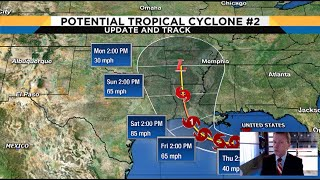 Tracking the Tropics: Potential tropical system in Gulf expected to become Hurricane Barry