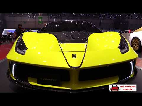 Ferrari 458 Nimrod 2016, Ferrari 488 GTB Mansory 2016, Ferrari GTC4 2017, Ferrari Lusso 2017