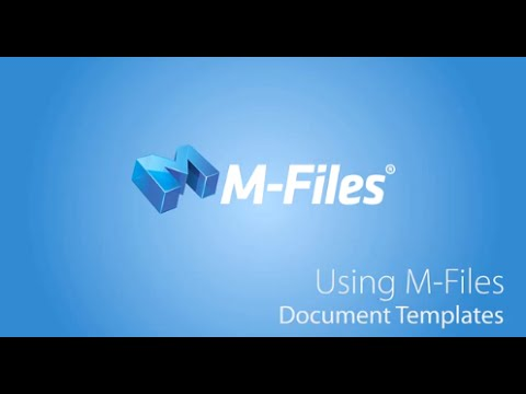 M-Files Document Templates