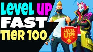 Fortnite How to LEVEL UP FAST, UNLOCK RAGNAROK and DRIFT Full ARMOR SET and RANK UP FAST - FARM XP