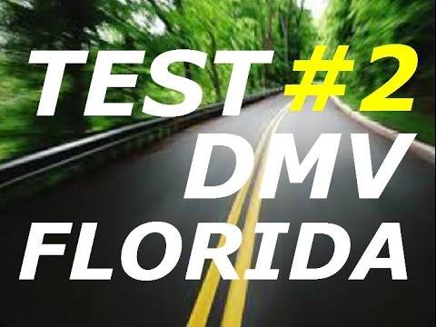 preguntas y respuestas #2-licencia de florida -dmv examen teorico