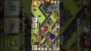 Coc TH9 good army for loot with out Archer queen