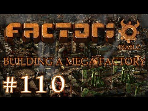 Factorio - Building a Mega Factory: Part 110 The new Blue