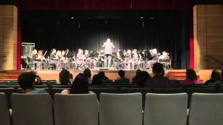 12 Days of Christmas by Julie Giroux - Thomas A. Edison Symphonic Band - Winter Concert - 11/18/15