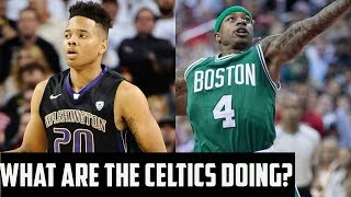 The Celtics Trading The #1 Pick Might Be A Terrible Move