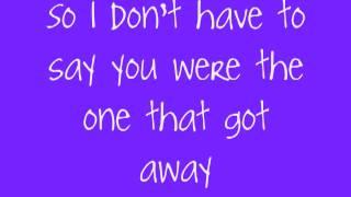 Katy Perry - The One That Got Away Lyrics
