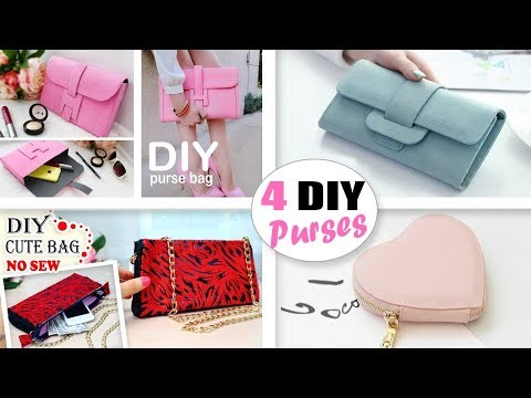 THE BEST DIY PURSE BAGS TUTORIALS YOU CAN MAKE EASY // Fantastic DIY Clutch Bag