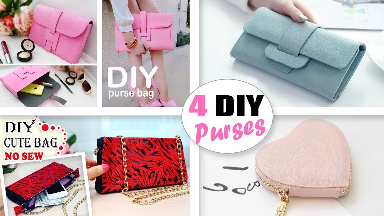 The Best Diy Purse Bags Tutorials You Can Make Easy Fantastic
