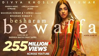 Download Besharam Bewaffa Song: Divya K, Gautam G, Siddarth G | B Praak, Jaani |Radhika, Vinay| Bhushan Kumar