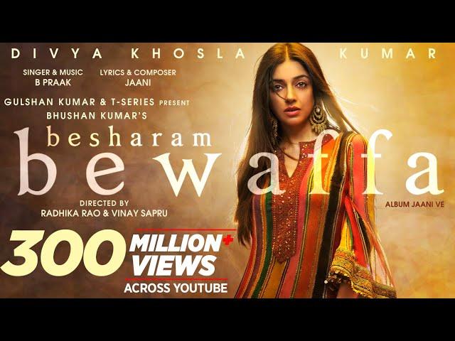 Besharam Bewaffa Song: Divya K, Gautam G, Siddarth G | B Praak, Jaani |Radhika, Vinay| Bhushan Kumar
